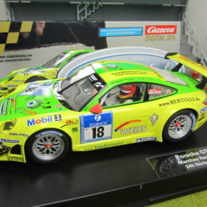 Carrera D124 Porsche GT3 RSR Manthey Racing #18 23794