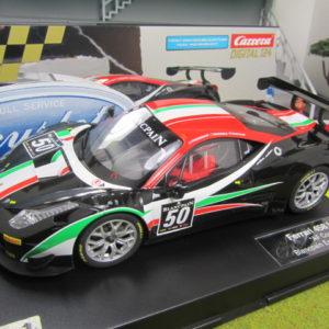 Carrera D124 Ferrari 458 Italia AF Corse Blancpain 23805