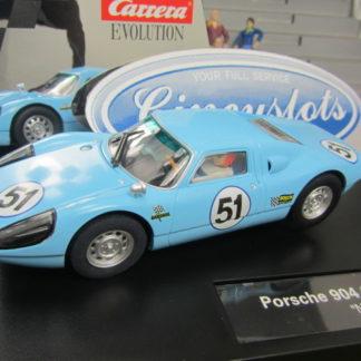 Carrera Evolution Porsche 904 27459