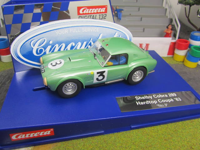 Carrera D132 Ford Shelby Cobra 30716