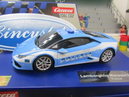Carrera D132 Lamborghini Huracan Police Car 30731