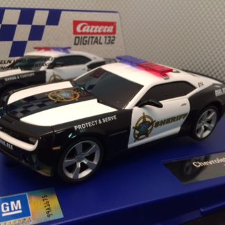 Carrera D132 Chevrolet Camaro Police Car 30756