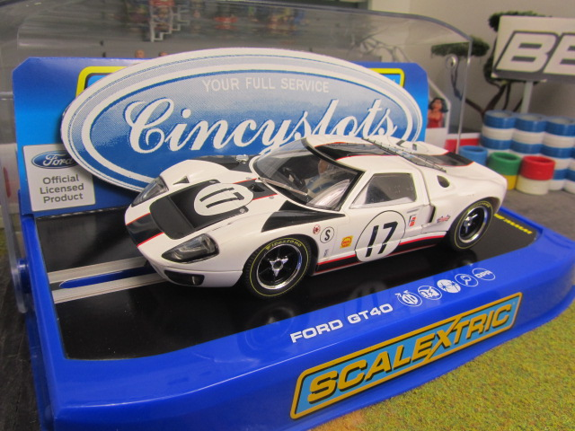Scalextric C3653 Ford Gt40
