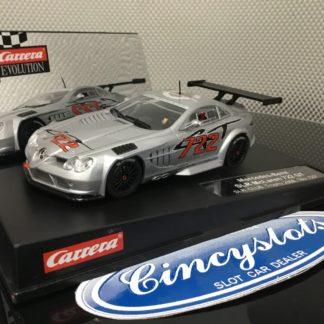 Carrera Evolution 27298 MERCEDES-BENZ SLR MCLAREN GT SLR. CLUB. TROPHY 2008, Lightly Used.