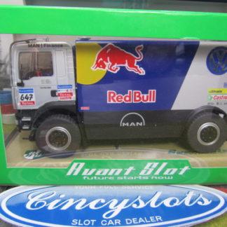 Avant 50407 Man Dakar Truck Red Bull 4WD #647