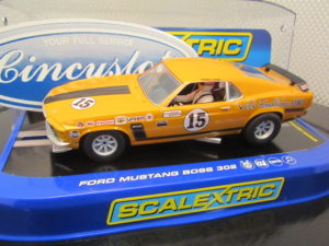 Scalextric C3651 Ford Mustang Parnelli Jones