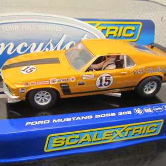 Scalextric C3651 Ford Mustang Parnelli Jones