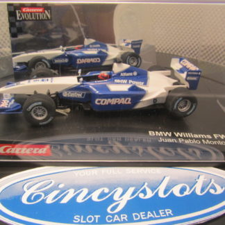 Carrera Evolution BMW Williams FW23 Montoya 25438