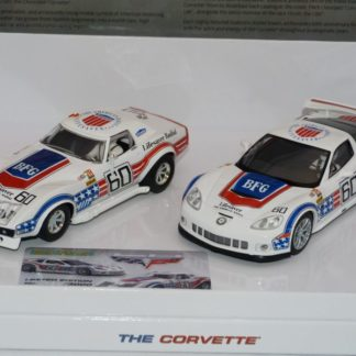 Scalextric C3368A Corvette 60th anniversary 2-car set