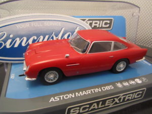 Scalextric C3722 Aston Martin DB5 Red