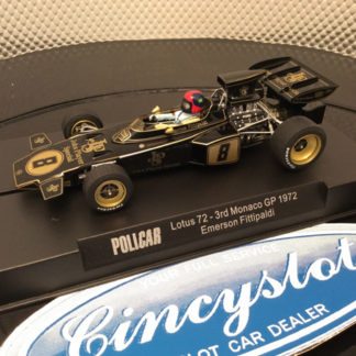 Policar Emerson Fittipaldi JPS Lotus CAR02c