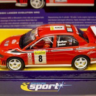 Scalextric C2364A Mitsubishi Lancer Evolution 7 WRC 8
