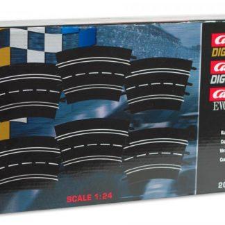 Carrera Exclusiv 20572 radius 2 curve