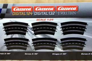 Carrera Exclusiv 20573 radius 3 curve
