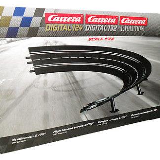 Carrera Exclusiv 20575 radius 2 high bank curve