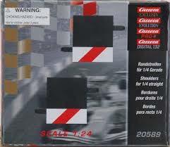 Carrera Exclusiv 20588 inside outside 1/4 straight border