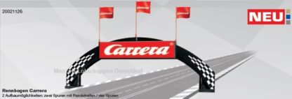 Carrera 21126 Bridge with Carrera logo