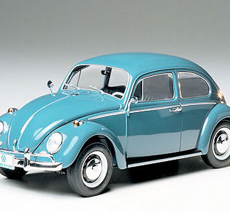 Tamiya 24136 1/24 Scale Car Model Kit 1966 Volkswagen Beetle 1300