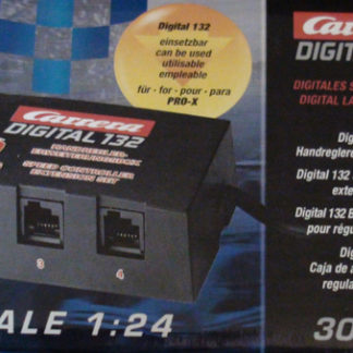 Carrera Digital 30348 Speed Controller Extension Box Plug up to 6 Wired Controllers D124 and D132