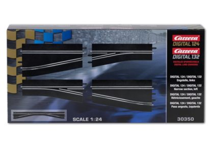 Carrera Digital 30350 Chicane right D124 and D132
