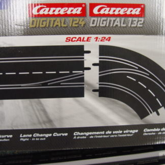 Carrera Digital 30364 Lane Change Curve Right (In to Out)