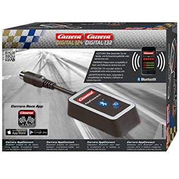 Carrera Digital 30369 Bluetooth App Connect D124 and D132