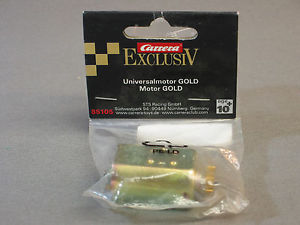 Carrera 85105 gold motor 1/24 Exclusiv