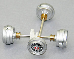 Carrera 89607 Axle assemblies for Porsche GT3 RSR