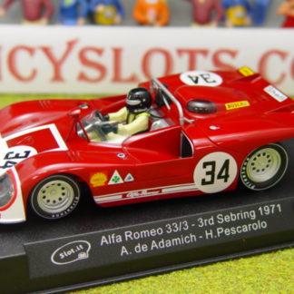 Slot.it SICA11A ALFA ROMEO 33/3 #34 Sebring 1971