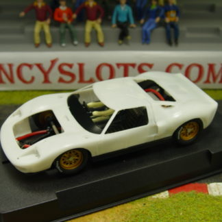 SLOT.IT SICA18Z FORD GT40 WHITE