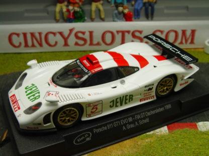 """SLOT.IT SICA23A PORSCHE 911 GT1 EVO98 """"JEVER"""""""