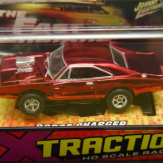 Autoworld Fast and Furious Dodge Charger red chrome