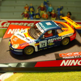 Ninco 50240 Porsche 911 GT3-R No72 REPSOL FATurbo Ex. 2000 Le Mans