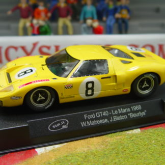 SLOT.IT SICA18B FORD GT40 SHELL #8 1968 LE MANS