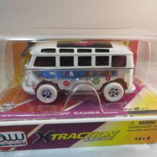 AutoWorld iWheels White Lightning 65 Volkswagen Samba Bus