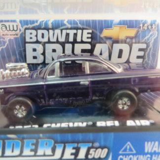 AutoWorld Thunderjet 1962 Chevrolet Bel Air Purple
