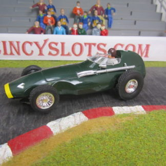 Classic F1 Vanwall Brass Chassis