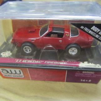AutoWorld XTraction Red Firebird BODY ONLY