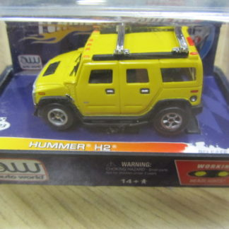 AutoWorld Flame Throwers Hummer H2 with lights