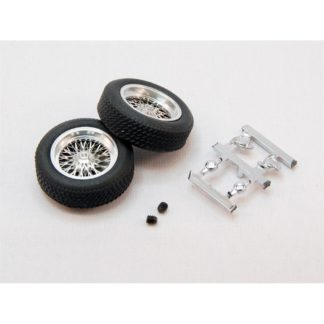 BRM S-113 Classic Wheels with Rear Tires for 2.5mm axles