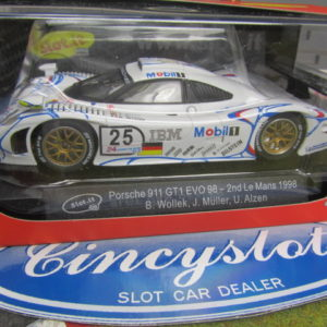 SLOT.IT SICA23D PORSCHE 911 GT1 EVO 98 MOBIL