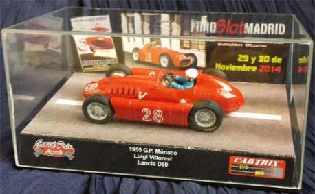 Cartrix 0034 LANCIA D50 #28 G.P. Monaco 1955 L. VILLORESI
