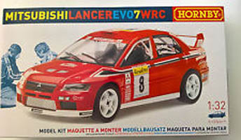 Scalextric K2003A Hornby Mitsubishi Lancer Evo7 WRC Scalextric Scale Model Kit McRae Senior