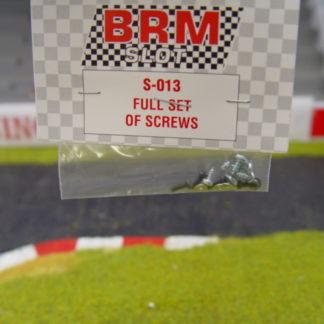 BRM S-013 Full Set of Screws
