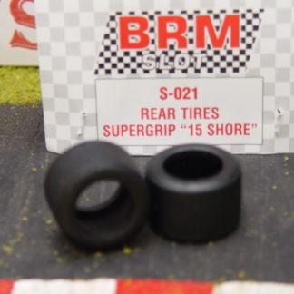 BRM S-021 Rear Tires Supergrip 15 Shore