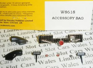 Scalextric W8618 MG Lola Mirrors Accessory Pack