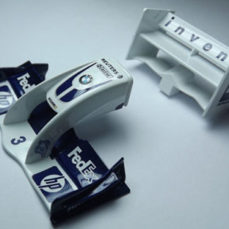 Scalextric W9100 BMW F1 body panels