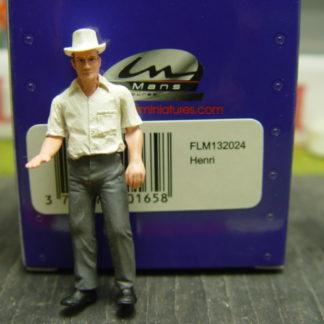 Le Mans Miniatures Figure FLM132024 Herni