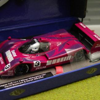 Le Mans Miniatures 132032/3 Jaguar XJR 14 Nurburgring 1991 Winner
