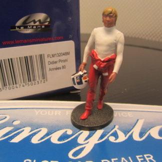 Le Mans Miniatures Figure FLM132048 Didier Pironi